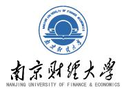 南京财经大学自考本科LOGO