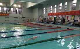 南京市少年儿童游泳比赛在市体校圆满举行