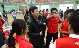 玄武中专亮剑区教育系统排球联赛