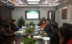 南京动漫行业协会秘书长一行到校指导我校动漫专业