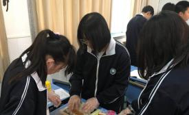 玄武中专2018国际部技能节——学习制作异国料理