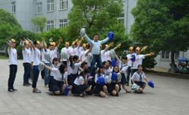 南京化工技师学院第二届班级集体舞大赛