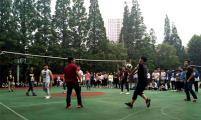 南京化工技师学院学生桃园杯排球赛